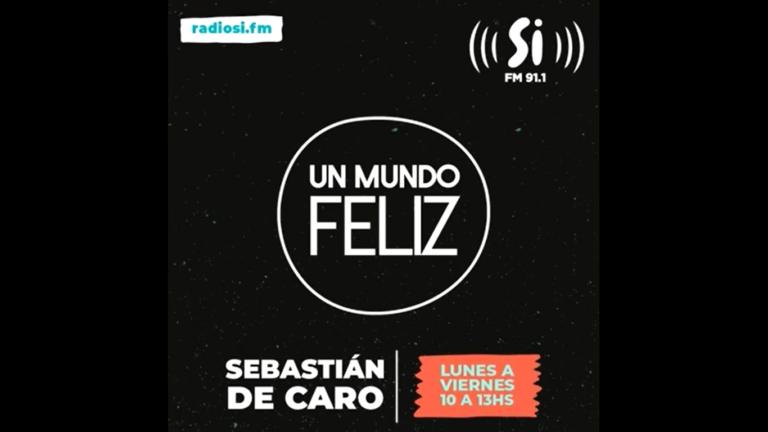 Entrevista con Seba de Caro en Un Mundo Feliz